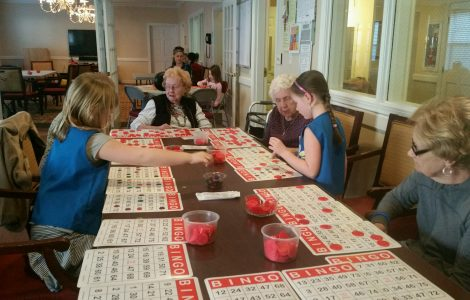 Bingo Time with the Girl Scouts – Troop 5106