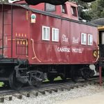 The Red Caboose Motel!