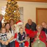 Eleanor and her family from our Holiday party!