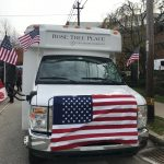 Our Bus with Veterans and their wives!
