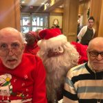 Jimmy, Henry and Santa!